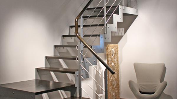 钢木楼梯怎么安装?