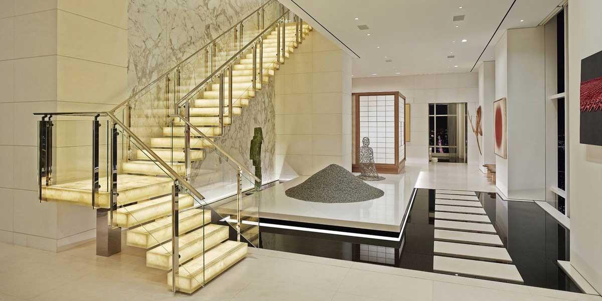 玻璃楼梯BL01