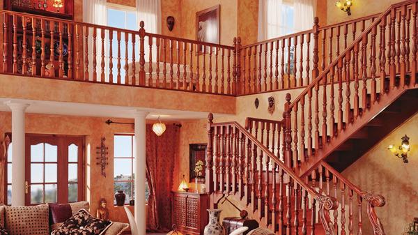 浅谈复式楼梯定制安装的颜色搭配技巧
