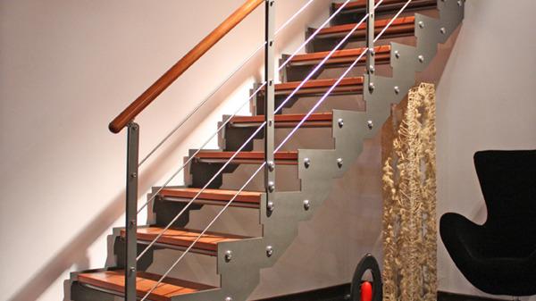不同户型怎样挑选钢木楼梯?